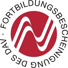 Logo Fortbildungsbescheinigung DAV